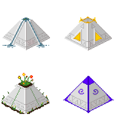 pyramids for peaceful city builder Power of the Ancients